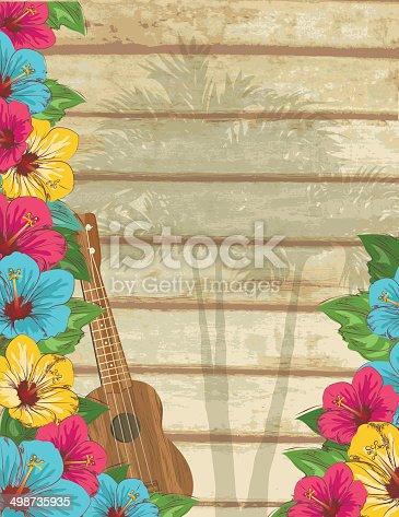 istock Hawaiian Background 498735935