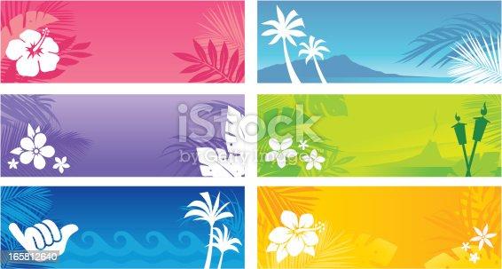 istock Hawaiian Banners 165812640