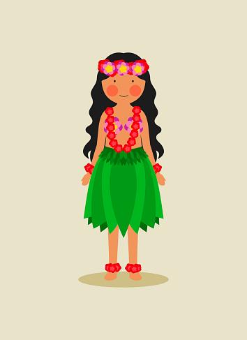 Hawaiian costume for women