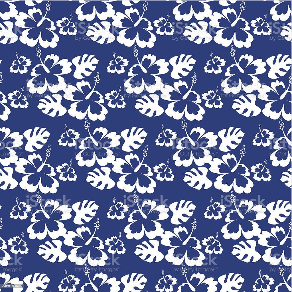 Hawaiian seamless pattern royalty-free stock vector art