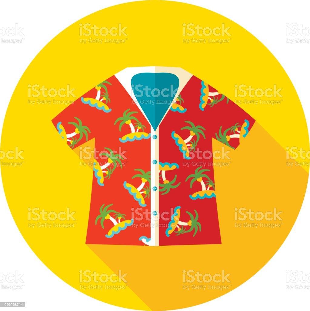 Royalty Free Hawaiian Shirt Clip Art Vector Images