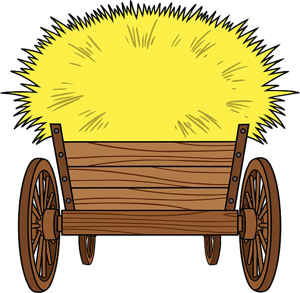 Best Hayride Illustrations, Royalty-Free Vector Graphics ...