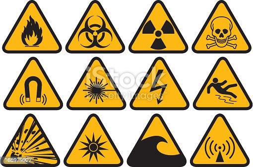 hazard symbol collection