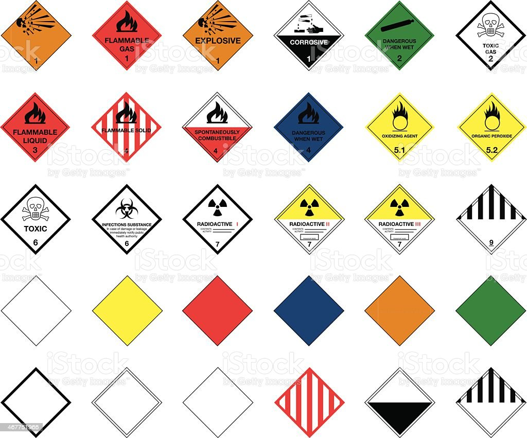 vector akaprinay stock diamond illustration hazard danger symbol depositphotos