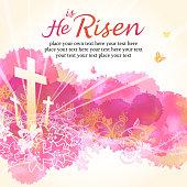 Resurrection, He Is risen.