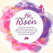 Easter blessings.