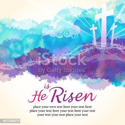 istock He is Risen 481098979