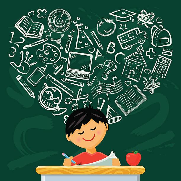 ilustraciones, imágenes clip art, dibujos animados e iconos de stock de ama para obtener información - clase de matemática