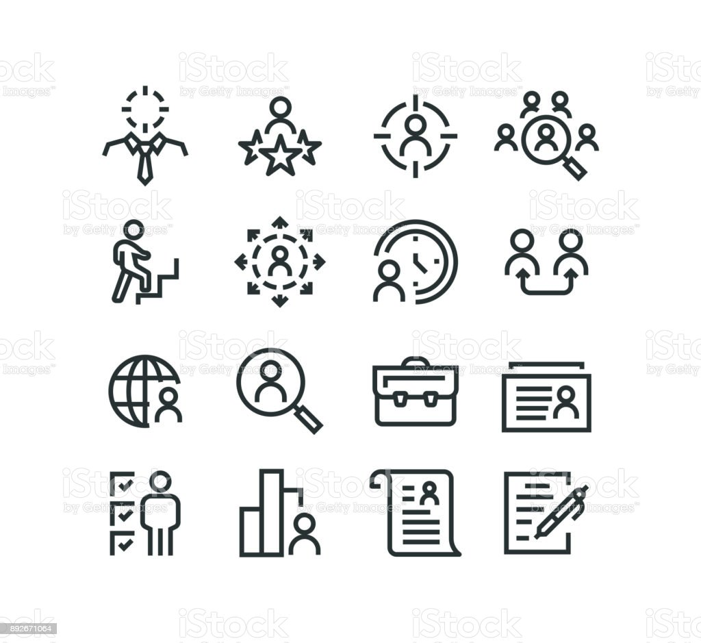 Head Hunting Icons