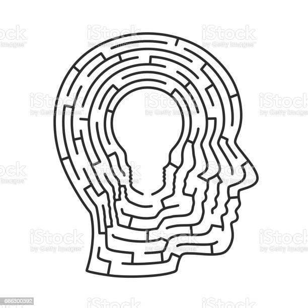 Head idea labyrinth lamp sign vector id666300392?b=1&k=6&m=666300392&s=612x612&h= q2 tonrc 9rqqysmf7 dfgg9u8xxgnlt4rbjd lvzk=