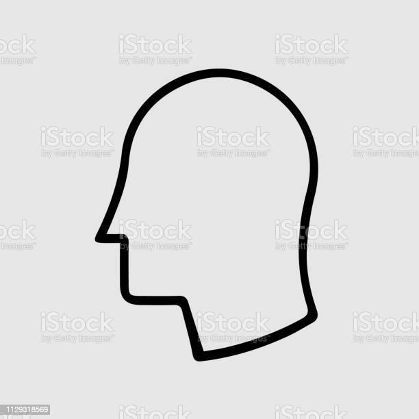 Head in profile vector icon vector id1129318569?b=1&k=6&m=1129318569&s=612x612&h=pyltlhsmmtlsmgci5h39c0kby8cekqdcabdm4qzp5ti=