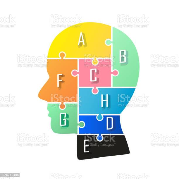 Head info puzzle sign template design element vector illustration vector id670712494?b=1&k=6&m=670712494&s=612x612&h=eunrrzl5vgz0srdallw8lkpft0ojuxetr6vrtwpmkfk=