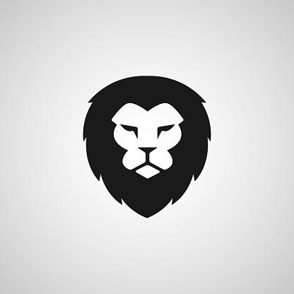 Head Lion icon Vector Design