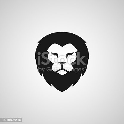 Head Lion icon Vector Design