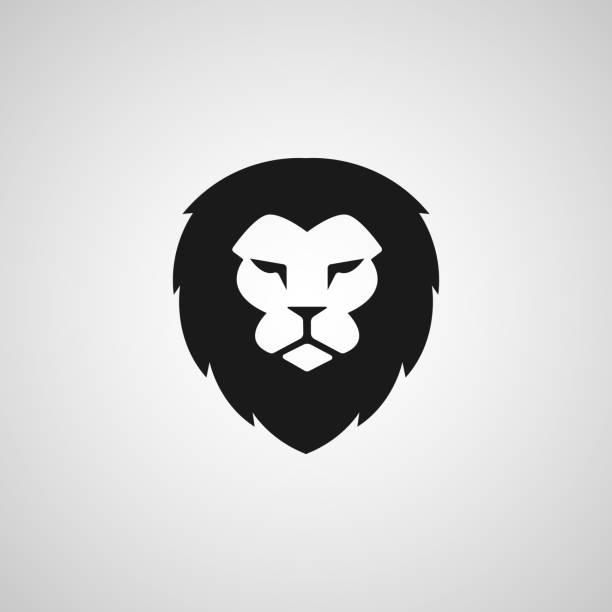 Head Lion icon Vector Design Head Lion icon Vector Design lion stock illustrations