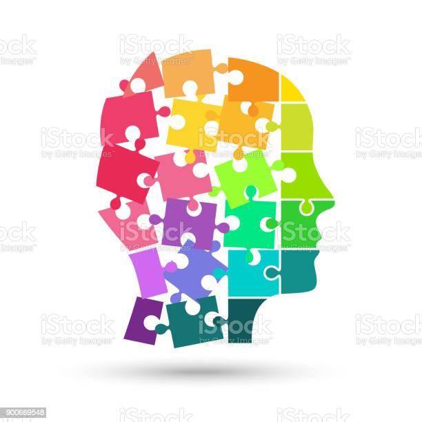 Head made of colorful puzzle falling apart vector id900669548?b=1&k=6&m=900669548&s=612x612&h=37vfbrcgfitdnswqhnqanbbgawc8vjbvlas1mtjsdio=