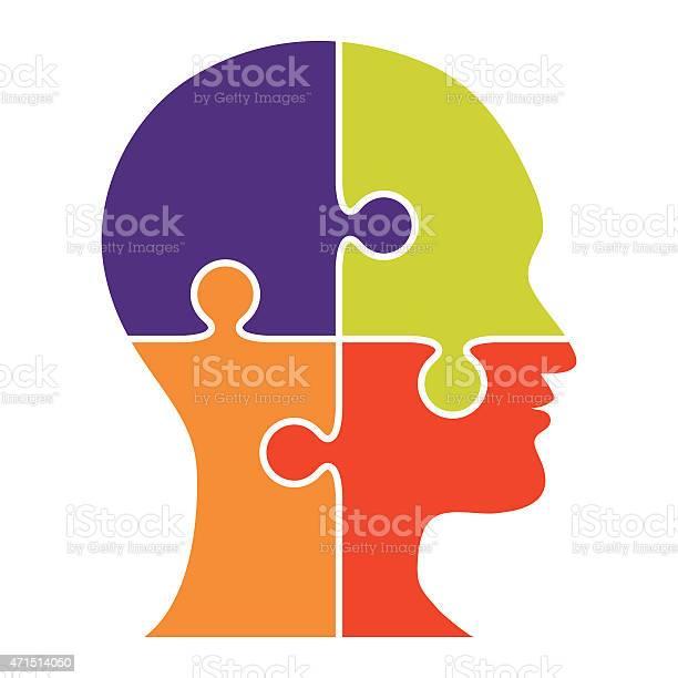 Head made of puzzle four pieces vector vector id471514050?b=1&k=6&m=471514050&s=612x612&h=dsdknnqyouiy0shqpxwbuxm9fljcqem0qzg9j 7ijic=