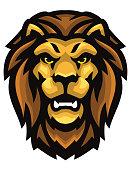 istock Head of a wild Lion 1305548480