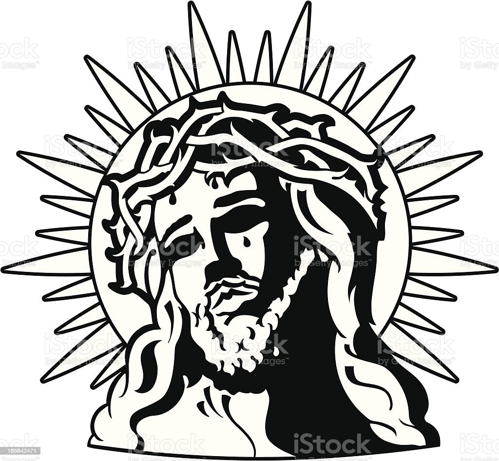 head of christ royalty-free head of christ stock vector art & more images of christianity