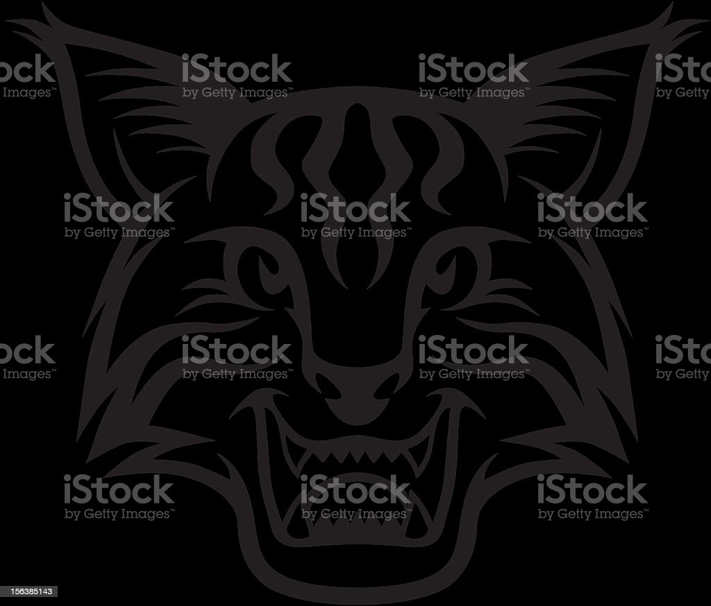 royalty free wildcat logo clip art vector images illustrations rh istockphoto com Wildcat Badge Arizona Wildcats Clip Art