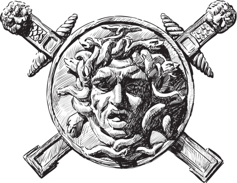 Head of Medusa the Gorgon