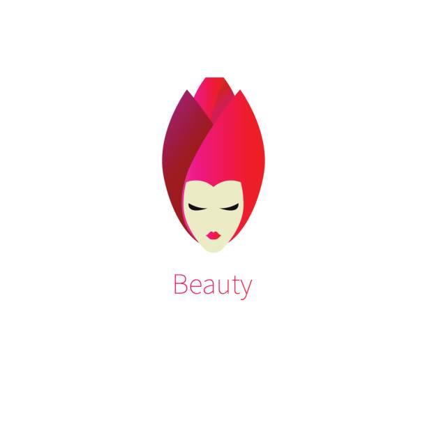 bildbanksillustrationer, clip art samt tecknat material och ikoner med head rose - makeup artist