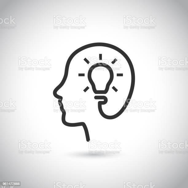 Head with bulb icon on gray background vector id961472666?b=1&k=6&m=961472666&s=612x612&h= ictkoip9mxb4jpqyn1hkz6cx3yinqlbsgfoyuphwhg=