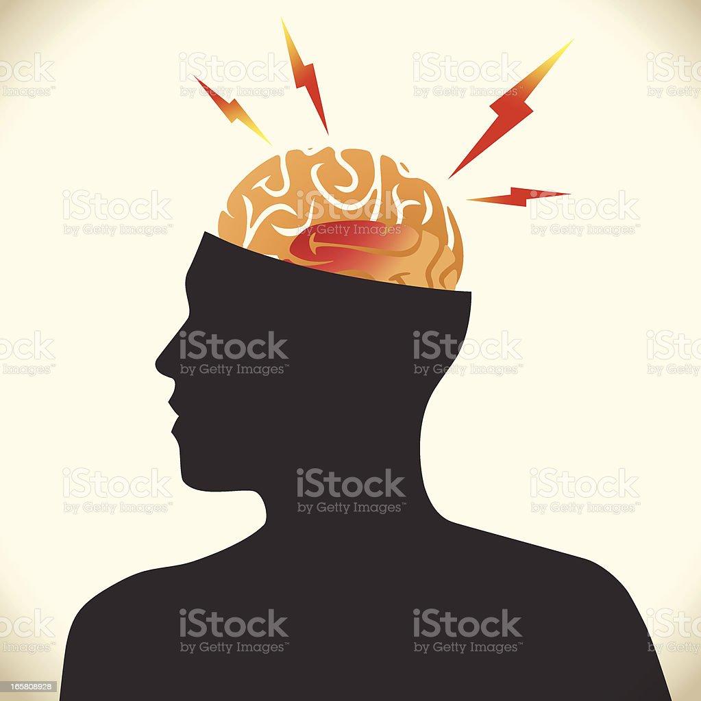 Headache royalty-free stock vector art