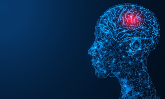 Headache. X-ray of the brain.