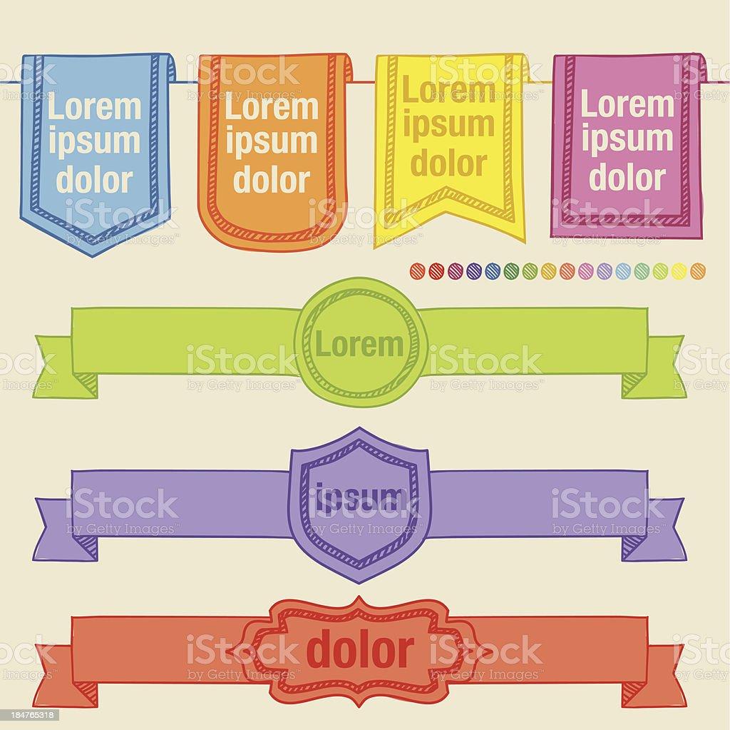 Plantilla De Dirección - Arte vectorial de stock y más imágenes de ...