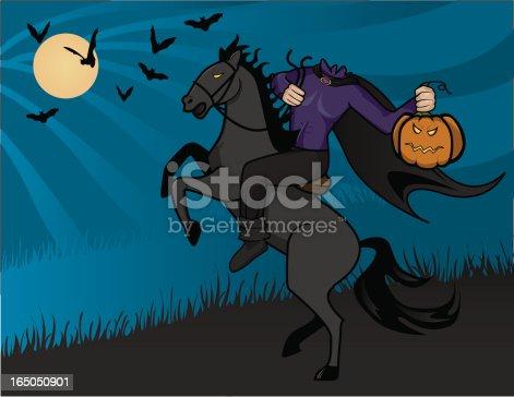istock Headless Horseman 165050901