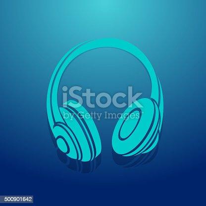 istock Headphone Icon 500901642