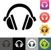 Headphones icon | solicosi series