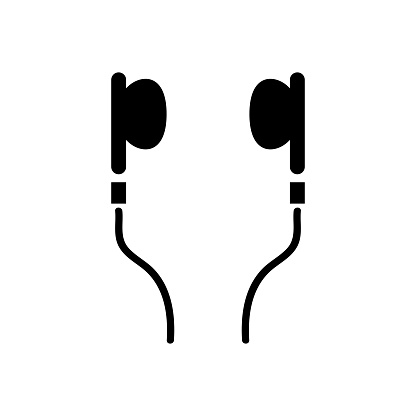 Kulaklık Simgesi Stok Vektör Sanatı & Baş'nin Daha Fazla Görseli