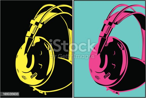 istock Headphones (Vecor) 165035633