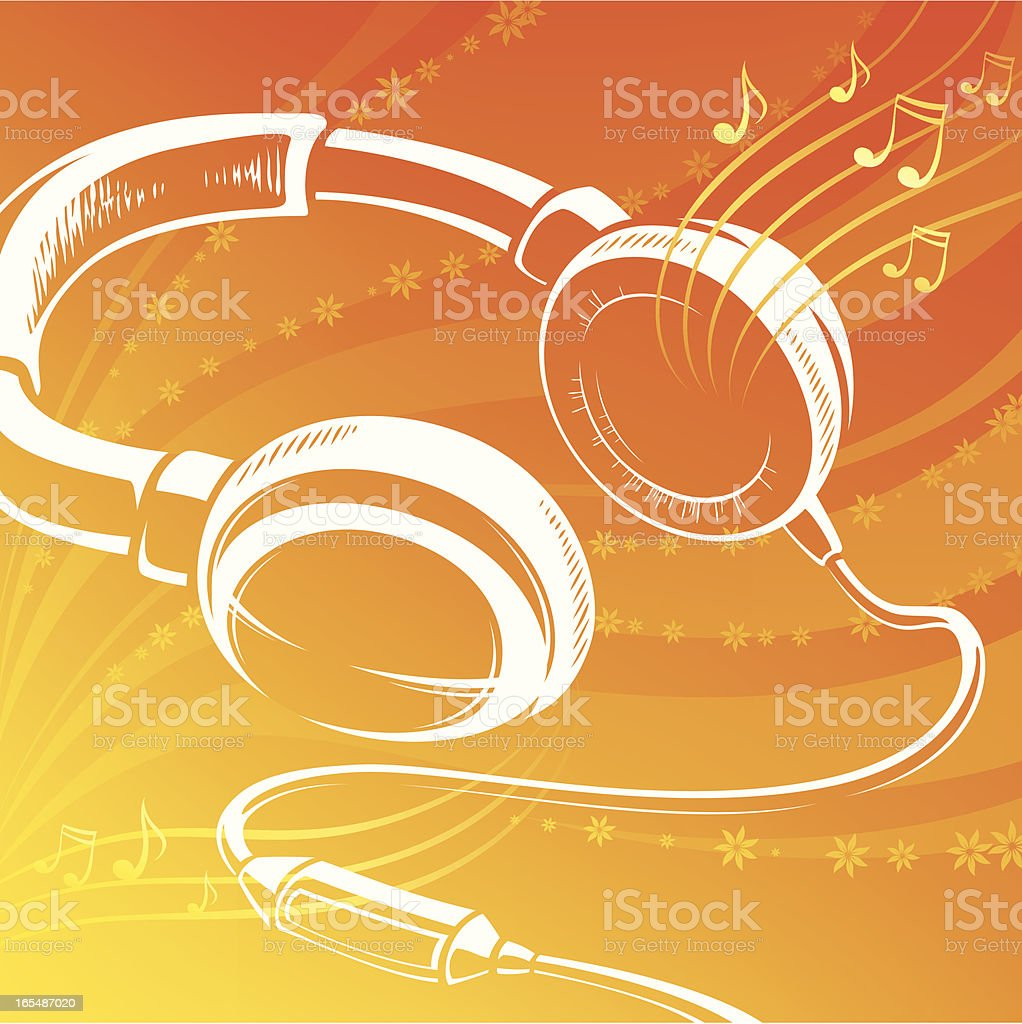 Headphones royalty-free headphones stock vector art & more images of arts culture and entertainment