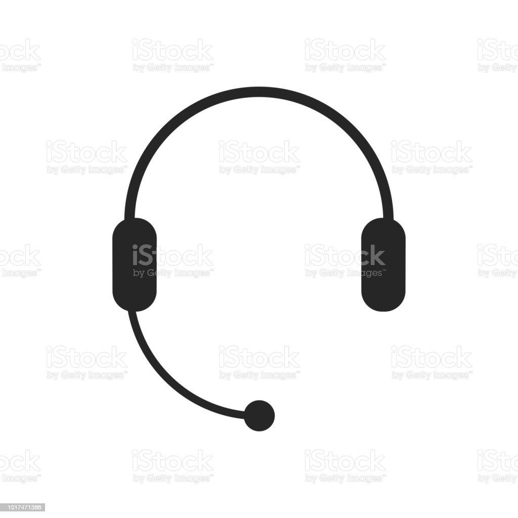 Kulaklık Mikrofon Kulaklık Simgesi Destek Çağrı Merkezi Müşteri Hizmet  Sembolü Sohbet Işareti Stok Vektör Sanatı & Bağlantı'nin Daha Fazla Görseli  - iStock
