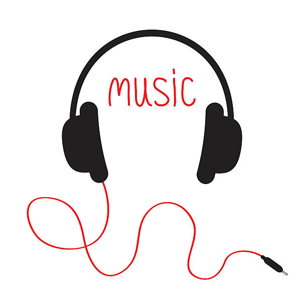 Royalty Free Headphones Clip Art Vector Images