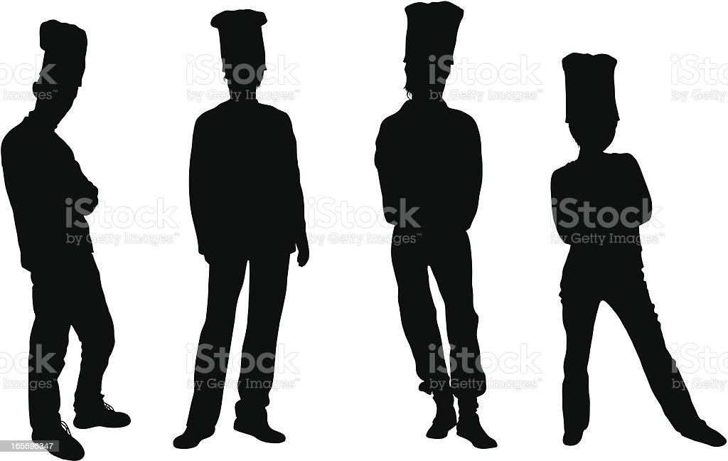 Chefs royalty-free chefs stock vector art & more images of adult
