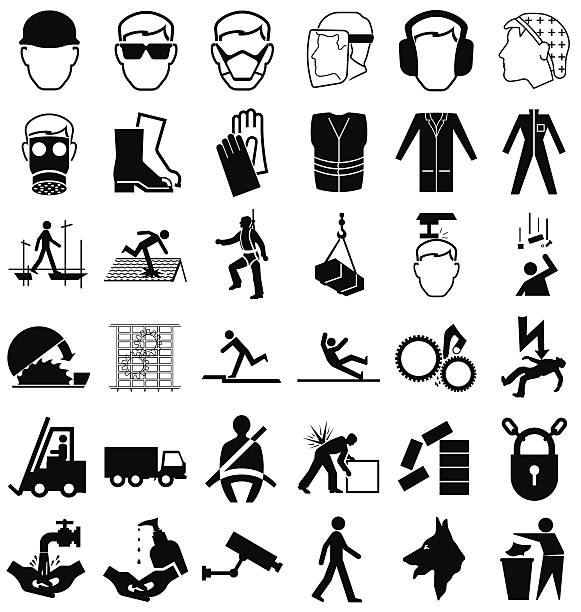 Royalty Free Safety Harness Clip Art, Vector Images