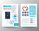 Health Care and Medical Poster Brochure Flyer design Layout