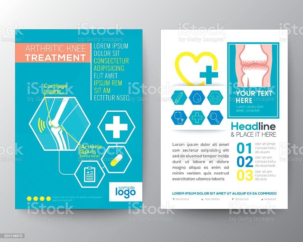 health care and medical poster brochure flyer design