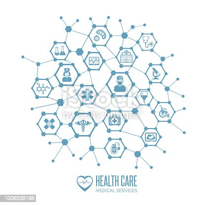Health care and medical services concept