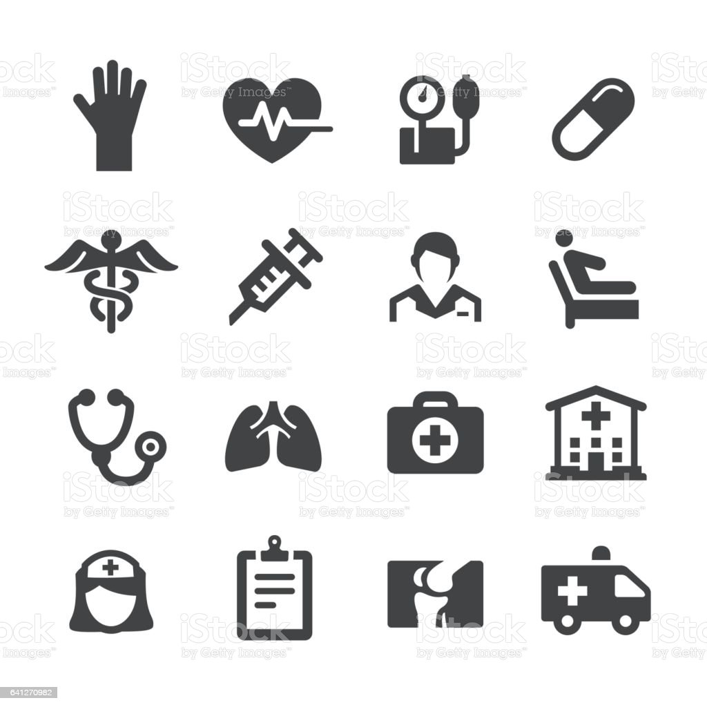 Health Care Icons - Acme Series vector art illustration
