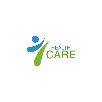 Health care logo vector design element