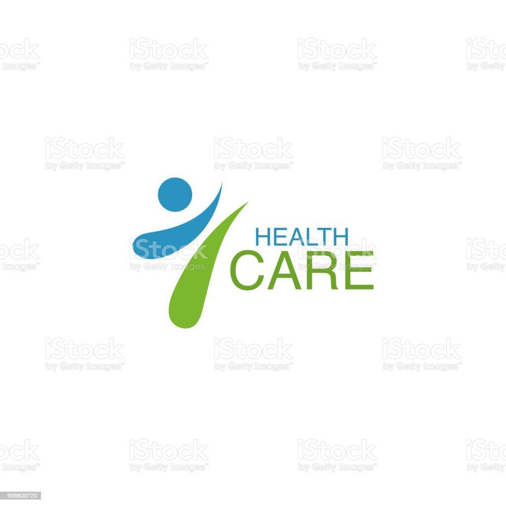 Elemento de diseño de vectores de salud logo - ilustración de arte vectorial
