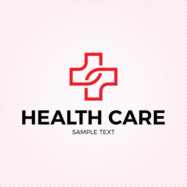 Health Care Medical Cross Plus Symbol vector art illustration