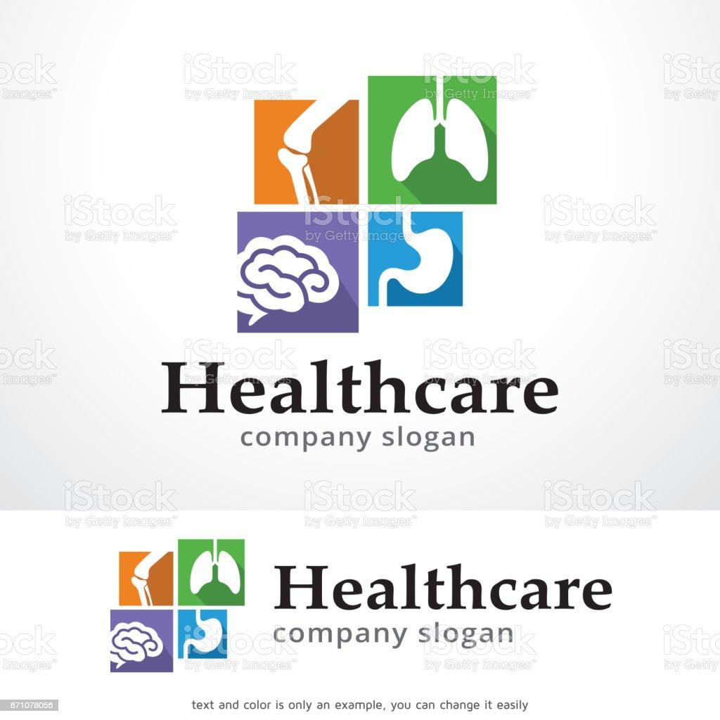 Health Care Symbol Template Design Vector Emblem Design Concept