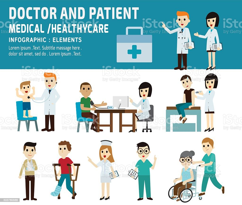 health care vector art illustration