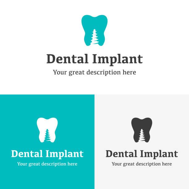 ilustraciones, imágenes clip art, dibujos animados e iconos de stock de dent salud - logos de dentista